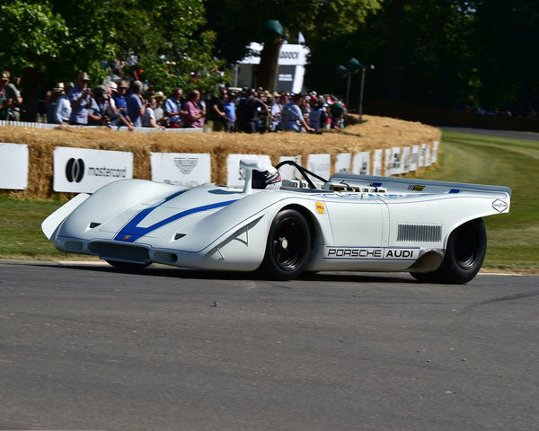 Brian Redman, Porsche 917 P-A, Festival of Speed, Speed Kings, Motorsport's Record Breakers, Goodwood Festival of Speed, 2019, Motorsports, automobiles, cars, entertainment, Festival of Speed, FoS, Goodwood, heritage, hill climb