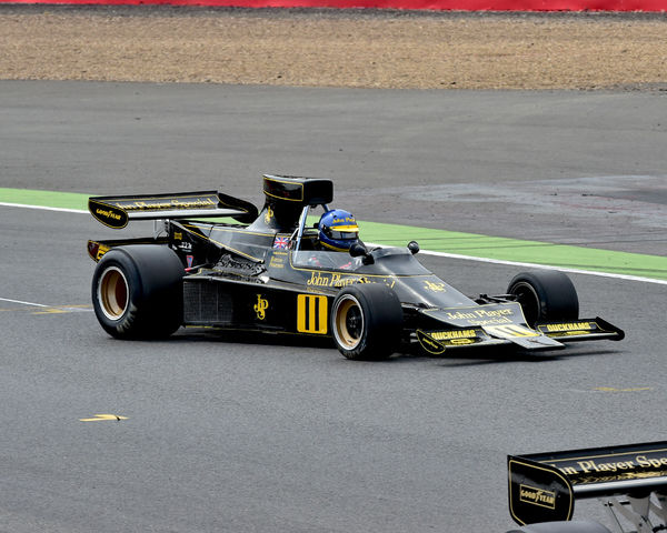 Andrew Beaumont, Lotus 76, Silverstone Classic 2014, 2014, Classic Racing Cars, F1, FIA, Ford, Formula 1, Grand Prix cars, Historic Formula One, Historic Grand Prix Cars, historic racing cars, HSCC, July 2014, Masters Series, motor racing, motorsport