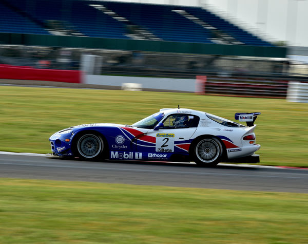 Oliver Bouquet, Chrysler Viper GTS-R, 90's GT Legends, Silverstone Classic 2014, 90's GT Legends, Classic Racing Cars, Endurance racing, historic racing cars, HSCC, July 2014, motor racing, motorsport, Northamptonshire, nostalgia, rocking and racing