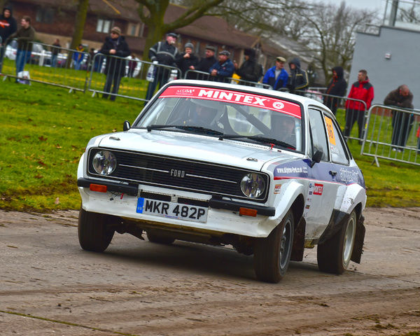 CM6 1192 Paul Howard, Ford Escort RS MkII