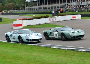 Alex Buncombe, Andy Wallace, Jason Wright, Michael Gans GT40's