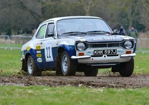 CJ3 0855 Ian Gwynne, Ford Escort MK1 RS1600
