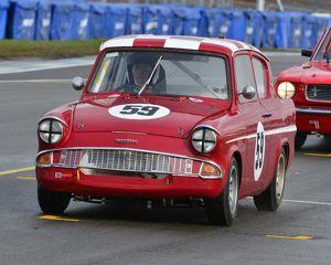CJ3 1221 David Tomlin, Ford Anglia 105E