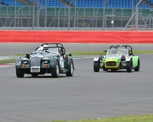 CJ3 6544 Clive Fidgeon, Morgan Plus 8, Jonathan Stringer, Lotus Seven S2