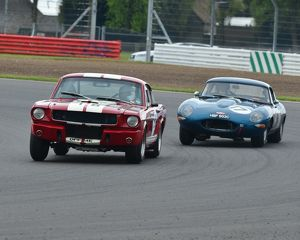 motorsport archive galleries/2013 motorsport archive galleries hscc events 2013 silverstone international trophy meeting 2013/cj3 6819 chas mallard shelby mustang gt350 robert