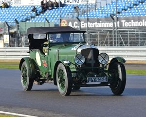 CJ5 3446 Stanley Mann, Bentley Speed Six, UY 6485