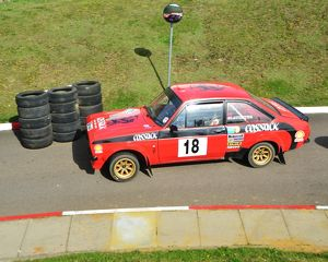 CJ5 5187 James Slaughter, Tim Sayer, Ford Escort, LNK 204 P