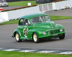 CJ5 5509 Tony Jardine, Paul Alcock, Morris Minor, Lowlight, SSK 888