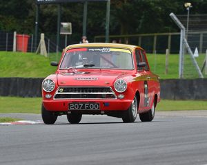 CJ5 6083 Mike Gardiner, Ford Lotus Cortina, 207 FOO