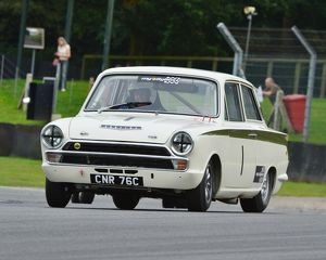 CJ5 6091 Tim Davies, Ford Lotus Cortina, CNR 76 C
