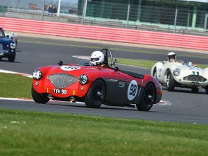 CJ5 7278 Nick Matthews, Austin Healey 100-4