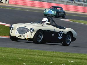 CJ5 7316 Graham Robson, Austin Healey 100M