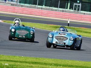 CJ5 7320 Robert Clarke, Austin Healey 100-4, James Wilmot-Smith, Austin Healey 100-4M