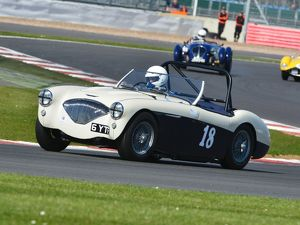 CJ5 7324 Matthew Collings, Austin Healey 100M BN2