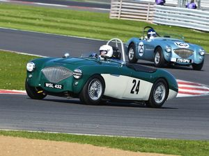 CJ5 7339 James Wilmot-Smith, Austin Healey 100-4M