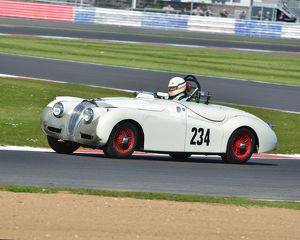 CJ5 7349 Christopher Scholey, Jaguar XK120