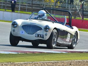 CJ5 7393 Matthew Collings, Austin Healey 100M BN2
