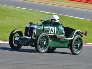 CJ5 7436 Oliver Richardson, MG C Type Montlhery