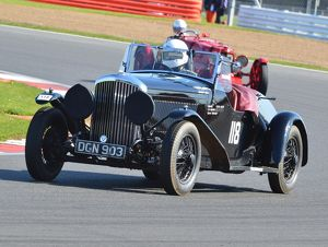 CJ5 7473 Steve Allen, Bentley 4¼ Litre