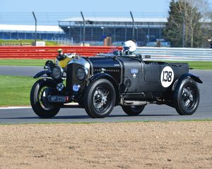 CJ5 7489 Guy Northam, Bentley 4½ Litre