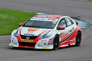 CJ6 1297 Gordon Shedden, Honda Civic Type R