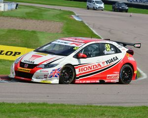 CJ6 1348 Gordon Shedden, Honda Civic Type R