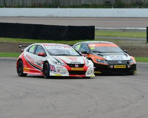 CJ6 1430 Gordon Shedden, Honda Civic Type R, Jason Plato, Volkswagen CC