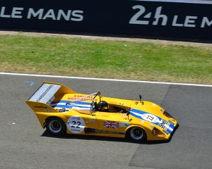 CJ6 5734 Ian Simmonds, James Claridge, Lola T292 BDG