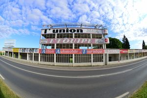 <b>Reims-Gueux GP Pits and Grandstand.</b><br>Selection of 10 items