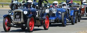 CJ6 8749 Don Adams, Austin 7 Ulster Replica