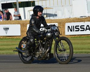 CJ6 9112 Ian Bain, Brough Superior KTOR