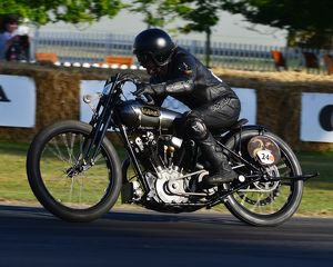 CJ6 9236 Ian Bain, Brough Superior KTOR