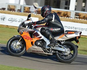 CJ6 9288 Mark Beckley, Honda CBR900, Fireblade, Urban Tiger