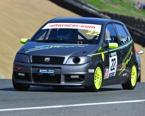 CJ6 9758 Chris McFie, Fiat Punto