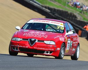 CJ6 9761 David Messenger, Alfa Romeo 156