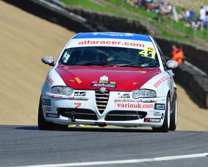 CJ6 9762 James Browning, Alfa Romeo 147