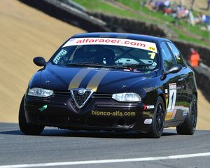CJ6 9767 Tom Hill, Alfa Romeo 156