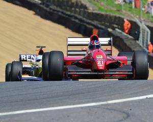 CJ6 9796 Mike Dewhirst, Dallara-Ferrari F192
