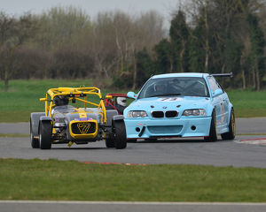 CJ7 1957 Chris Aubrey, Caterham 420R, Matthew Sanders, BMW M3 E46