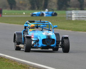 CJ7 2061 Paul Lewis, Darren Burke, Caterham Supersport