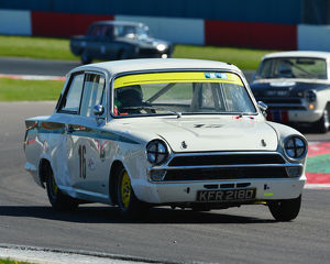 CJ7 2784 David Tomlin, Martin Stretton, Ford Lotus Cortina
