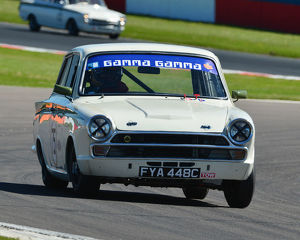 CJ7 2814 Richard Bateman, Stephen Upsdell, Ford Lotus Cortina