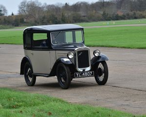 CM11 6558 Angus Frost, Austin 7 Saloon