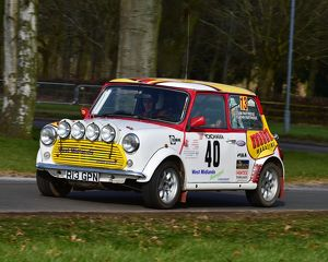 CM12 0042 John Partridge, Mini Cooper