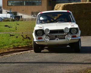 CM12 0140 Anthony Harrison, Ford Escort Mexico Mk1