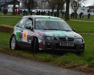 CM12 0644 Paul Hughes, MG ZR Works