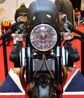CM12 0746 Norton Dominator SS, James Bond, Spectre