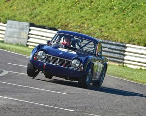 CM12 7081 Allan Ross-Jones, Triumph TR4