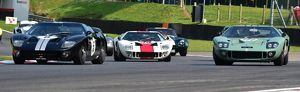 CM13 4794 A trio of Ford GT40s