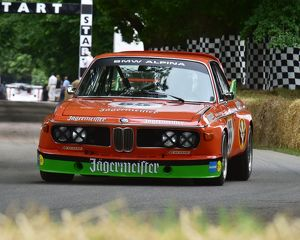 CM14 5675 Patrick Blakeney-Edwards, BMW 3 litre CSL, Batmobile